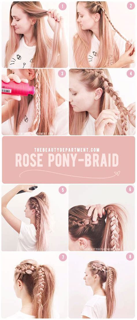 7 easy step by step hair tutorials for beginners pretty 12 easy step by step summer hairstyle tutorials for
