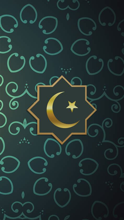 download islamic themes for mobile free hd islamic green phone wallpaper 6658