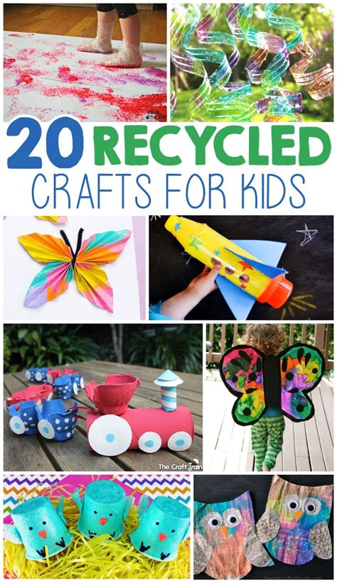 crafts from recycled items 25 best ideas about recycled materials on