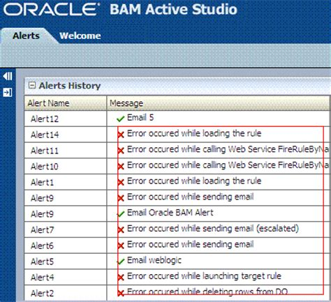 tutorial oracle bam creating oracle bam alerts