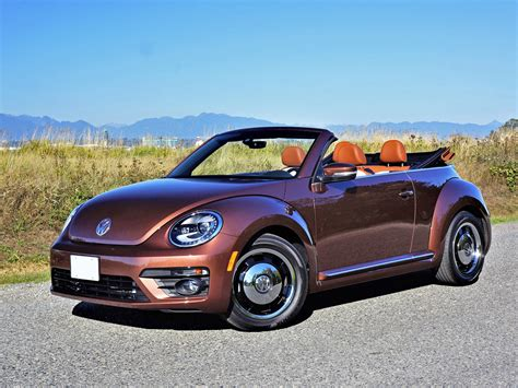 Volkswagen Convertible by 2017 Volkswagen Beetle Convertible Classic Road Test