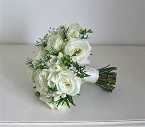 Bouquet by Wedding Flowers Blog Emma S Green And White Wedding
