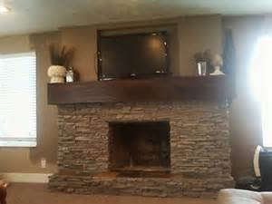 the ewell corner fireplace renovation building around a