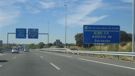 camaras dgt a5 todos los radares de la carretera a 5 autopista es