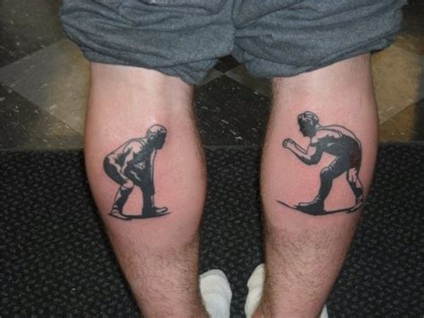 awesome wrestling tattoos tattoo pinterest