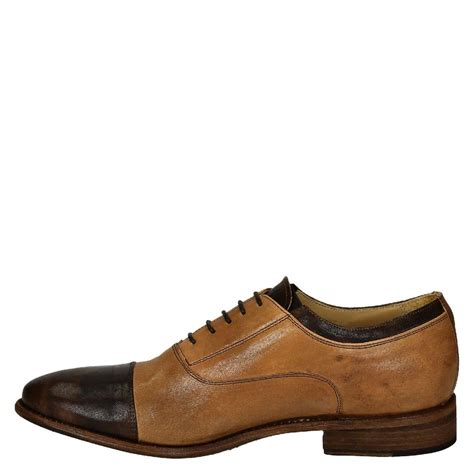 oxfords shoes two tone brown leather s oxfords shoes