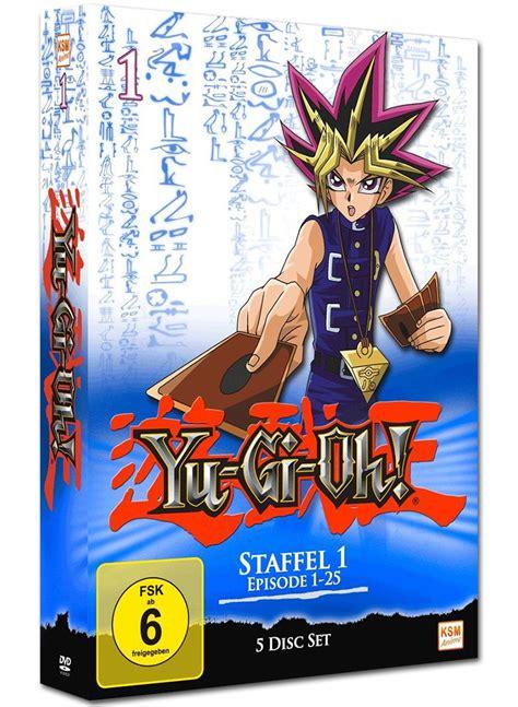 Yu Gi Oh Box 1 Yu Gi Oh Staffel 1 Box 01 5 Dvds Anime Dvd World