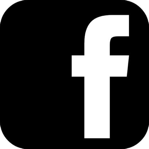Fotos En Blanco Y Negro Facebook | facebook signo de letra f en una redondeada forma cuadrada