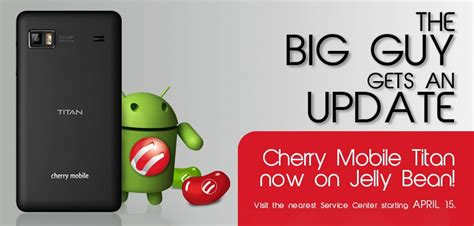 themes for cherry mobile jelly cherry mobile titan jelly bean update to become available