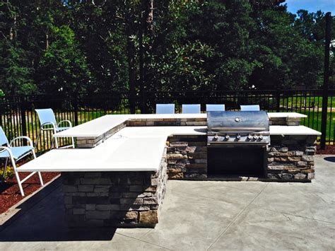 Countertops Wilmington Nc by Outdoor Grill With Quartz Countertops In Wilmington Nc