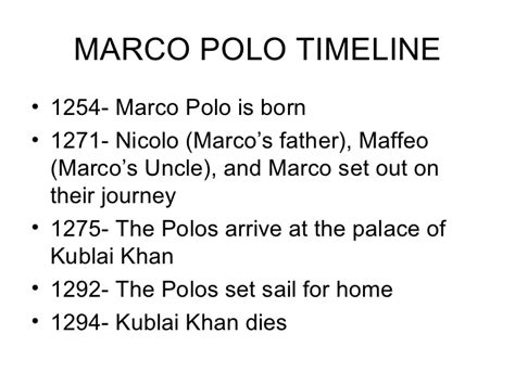 marco polo facts biography travels pics for gt marco polo the explorer timeline