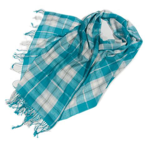 gretna green turquoise scarf