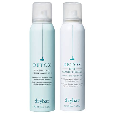 Drybar Detox Shoo Conditioner Combo by Preserve And Protect The Best Products For Color