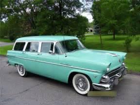 1955 ford country sedan wagon barrett jackson auction