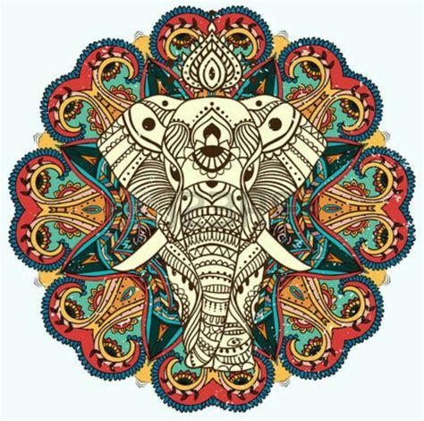 imagenes de mandalas de la india m 225 s de 25 ideas incre 237 bles sobre mandala de elefante en