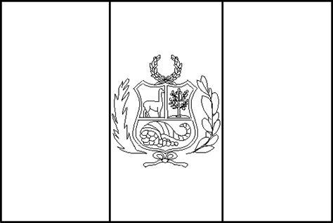 la bandera de peru para colorear bandera de per 250 para colorear bandera de per 250