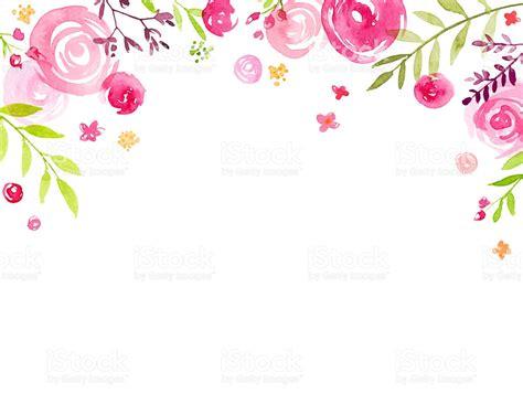 Id 82 Blue Flower 手描きの水彩花の天蓋付きフレーム イラストレーションのベクターアート素材や画像を多数ご用意 508164154