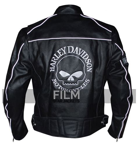 cheap leather motorcycle jackets harley davidson willie g reflective skull motorcycle black