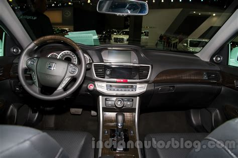Honda Accord Interior 2015 by 2015 Honda Accord Interior At The 2014 Moscow Motor Show
