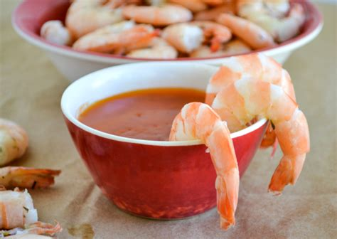 How To Boil Crab Legs by Boiled Shrimp And Spicy Garlic Dipping Sauce Flour On My
