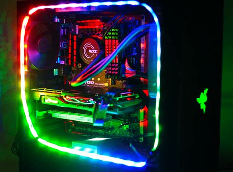 led lights pc flash review nzxt hue plus led lighting system gamecrate