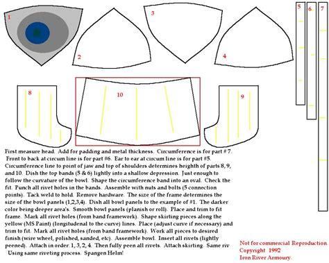 how to make a spangenhelm