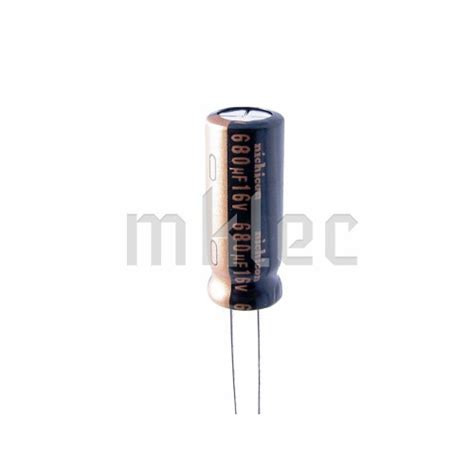 680uf 16v low esr electrolytic capacitor