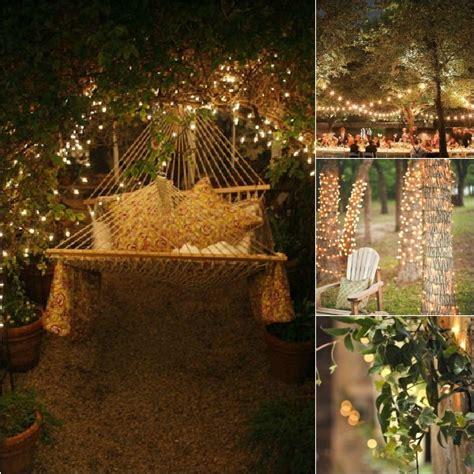 backyard fairy lights monday inspiration fairy lights the best of this life