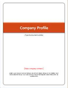 company templates customizable company profile template for word document hub