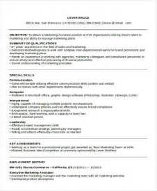 sle executive administrative assistant resume 24 best marketing resume templates pdf doc free