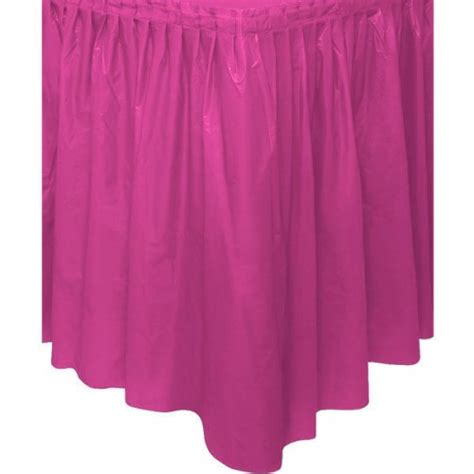 pink plastic table skirt the place uk