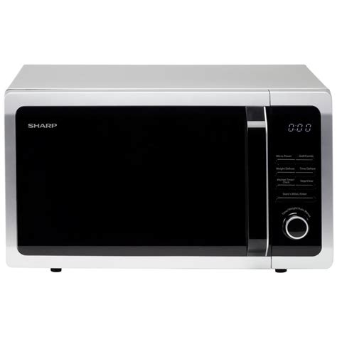 Microwave Sharp 25 L sharp r764slm 25l 900w freestanding microwave with grill in silver r764slm 163 107 97 picclick uk