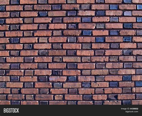 multi colored walls multi colored duo sized brick wall stock photo stock
