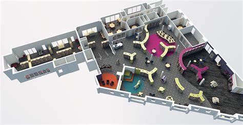 Virtual Furniture Arrangement library space planning