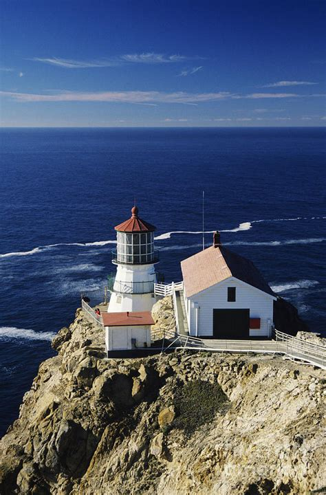Point Reyes Light House by Point Reyes Lighthouse Photograph By Michael Howell
