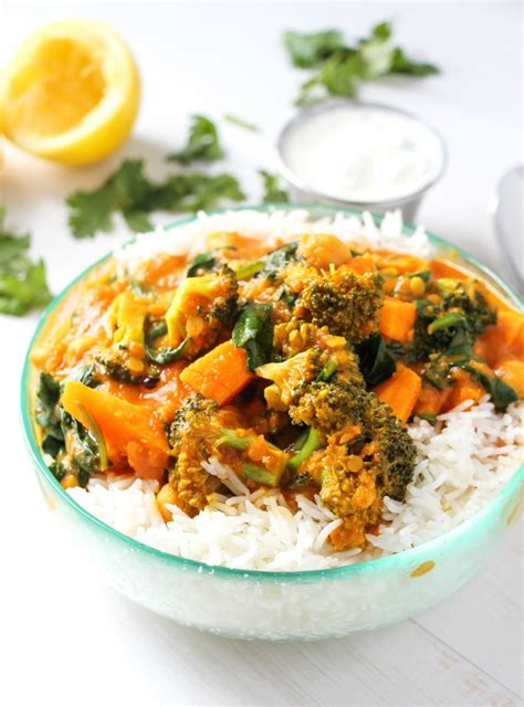 the best vegetable curry ever layers of happiness