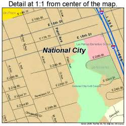 national city california map 0650398