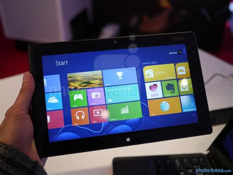 Tablet Phone Lenovo lenovo thinkpad tablet 2 review you take the with the badgsm nation