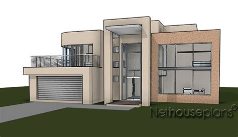 Modern Home Design Narrow Lot house plans double story south africa