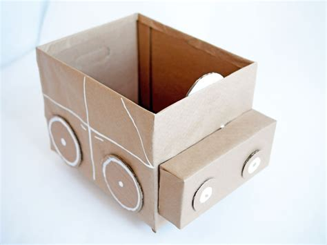 how to make a box for school easy recycled cardboard storage for