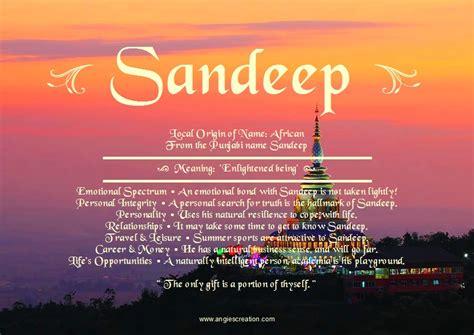 name of sandeep unique names