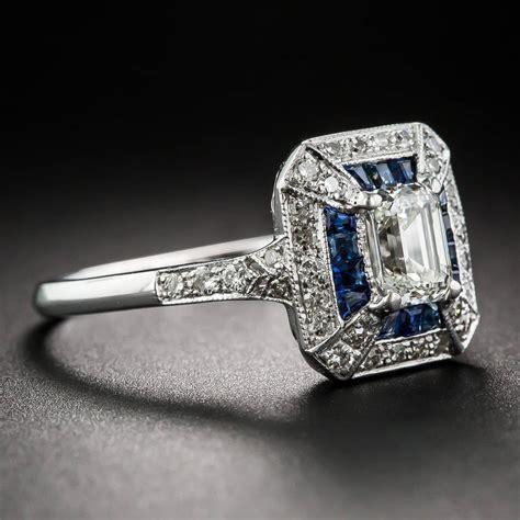 69 carat emerald cut deco style and calibre