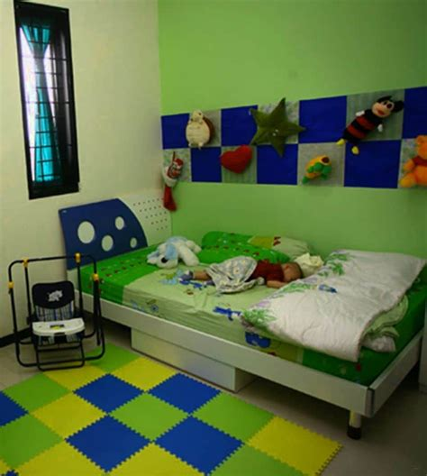 tips memilih warna cat kamar tidur pria  sesuai