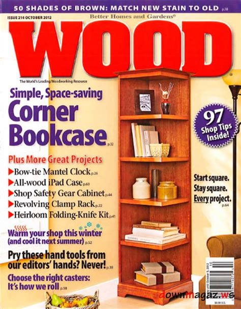 wood pattern magazines wood 214 october 2012 187 download pdf magazines