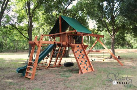 2 swing swing set come check out my new wood swing set shanty 2 chic