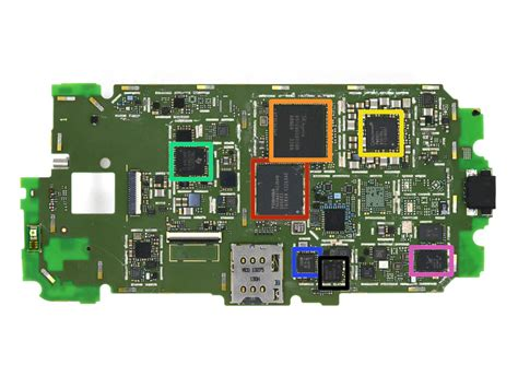 Bor Ic Emmc moto x teardown shows what made in the usa looks like