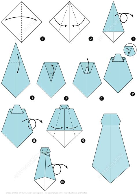 printable origami truck instructions how to make an origami necktie step by step instructions