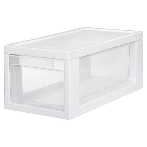Sterilite Plastic Drawer by Sterilite 17 125 In D X 8 In W X 7 In H 6 Compartment