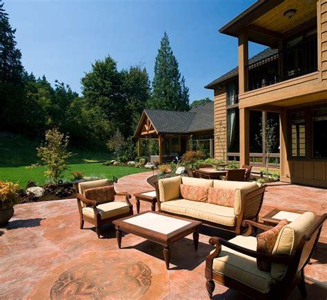 patio color building a mexican themed garden backyard