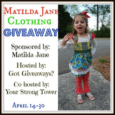 Jane Com Giveaway - enter to win a 50 matilda jane giftcard ends 4 30
